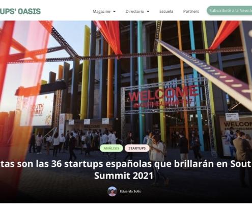 36 startups españolas brillaran en South Summit 2021